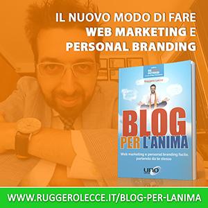 Blog per l'anima - Libro di Ruggero Lecce