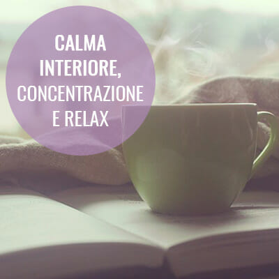 Calma interiore, concentrazione e relax