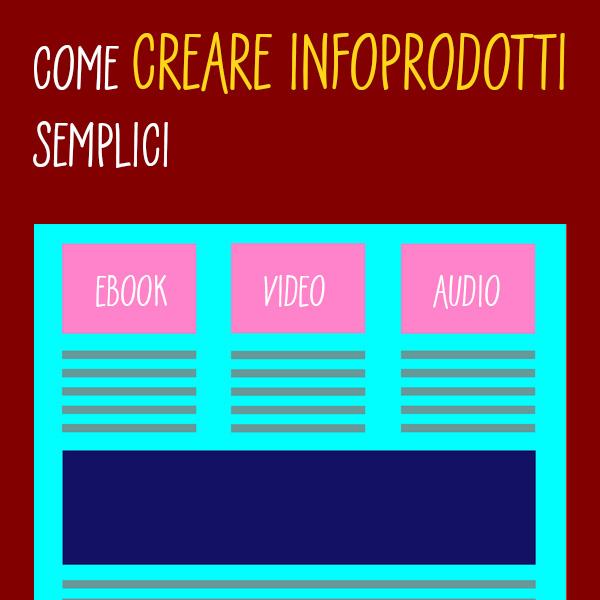 Come creare infoprodotti semplici