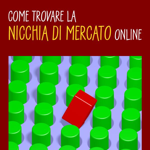 Come trovare la nicchia di mercato online