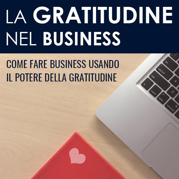 La gratitudine nel business